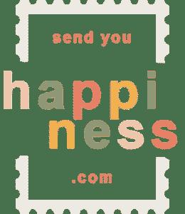 Welkom iedereen bij Send you happiness