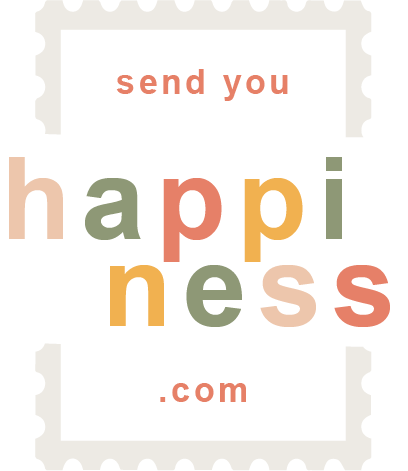 Begrüßen Sie alle bei Send you happiness