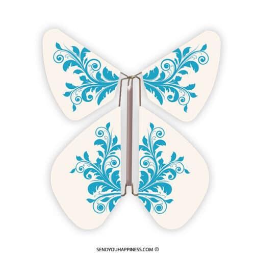 Magic Vlinder Baroque Turquoise copyright sendyouhappiness.com