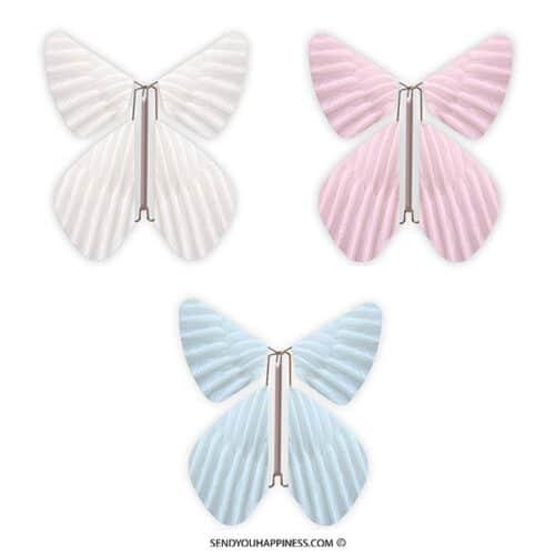 Magic Vlinder Feather Combi A copyright sendyouhappiness.com