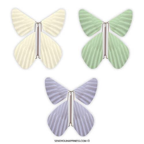 Magic Vlinder Feather Combi B copyright sendyouhappiness.com