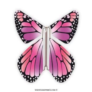Magic Vlinder New Concept Pink copyright sendyouhappiness.com