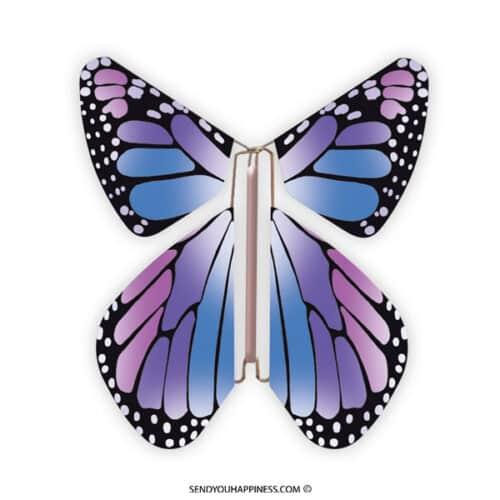 Magic Vlinder New Concept Purple copyright sendyouhappiness.com