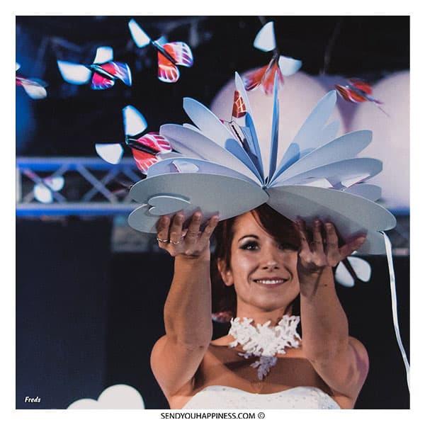 Vlinders op jouw huwelijk, een magische bruiloft