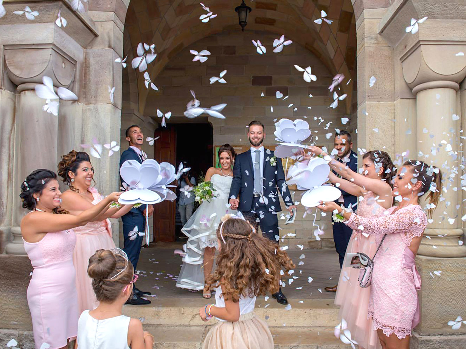 Magic Flyer Vlinder huwelijks welkom FR copyright sendyouhappiness.com