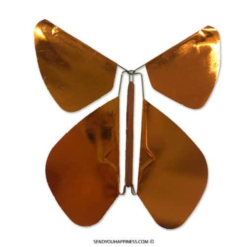 Magic Vlinder Metal Copper copyright sendyouhappiness.com