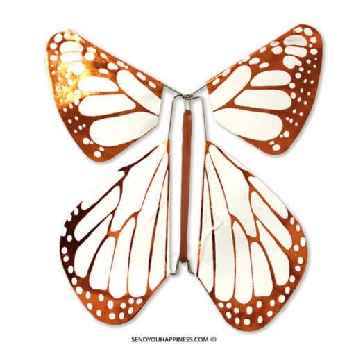 Magic Vlinder Metal Copper New Concept copyright sendyouhappiness.com