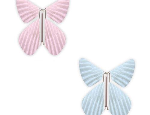 Vier jouw gender reveal party met vlinders