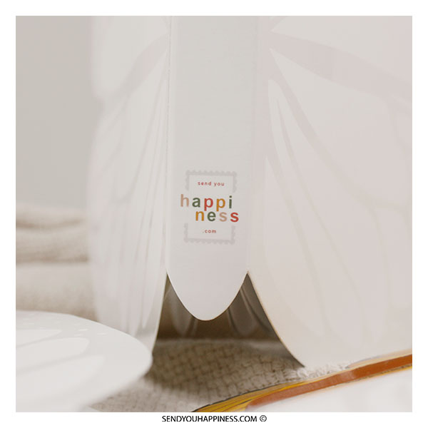 Magic Vlinder Boek special edition Send you happiness